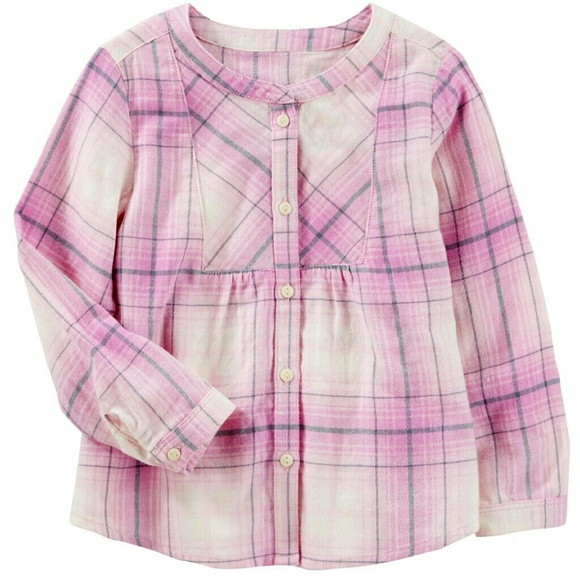 OshKosh B'gosh Other - OshKosh Girls Flannel Top